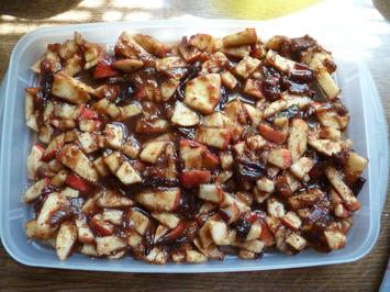 Rezept: Granité mit Apfel und Pflaumenmus