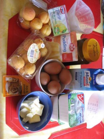 Käsekuchen mit Zuckeraprikosen - Rezept - Bild Nr. 365