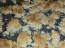 Marzipan-Kirsch-Mohnkuchen mit Streuseln - Rezept - Bild Nr. 377