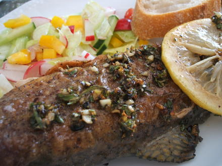 Fisch: Salmerino in padella - Rezept - Bild Nr. 377