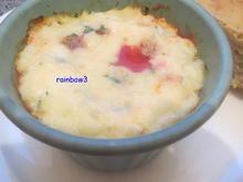 Vorspeise: Tomate auf Ei - Rezept - Bild Nr. 391