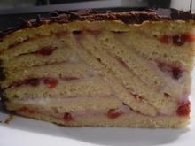 Preiselbeer-Schicht-Torte - Rezept - Bild Nr. 391