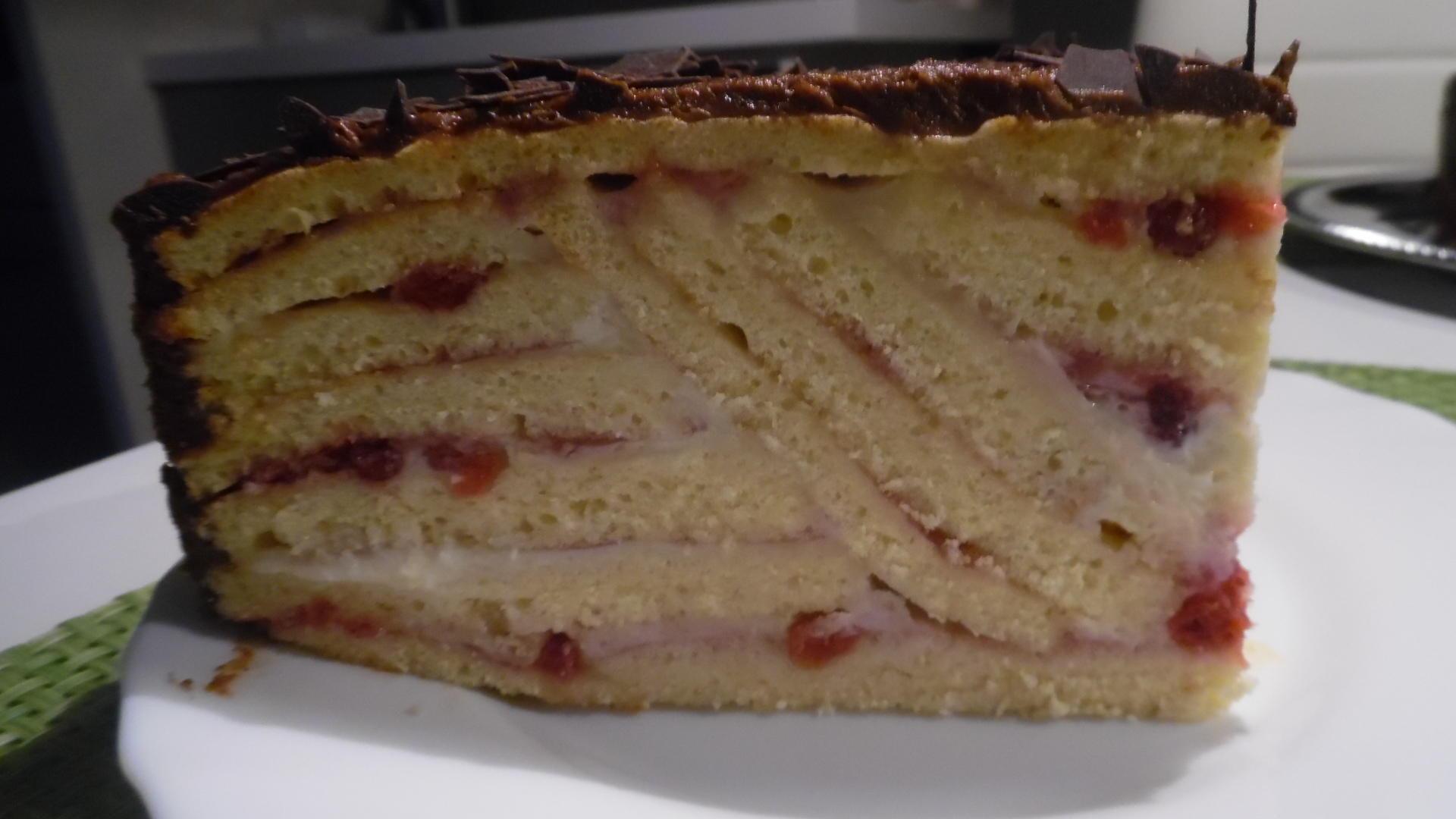 Preiselbeer-Schicht-Torte - Rezept By barbara62