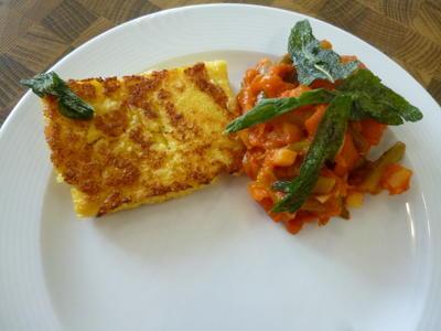 Polentaschnitten mit Salbei-Gemüse - Rezept - Bild Nr. 465