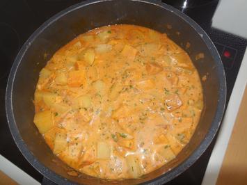 Rezept: Süßkartoffel-Gulasch