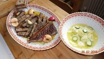 Kalbin T-Bone Steak mit Filet - Rezept - Bild Nr. 501