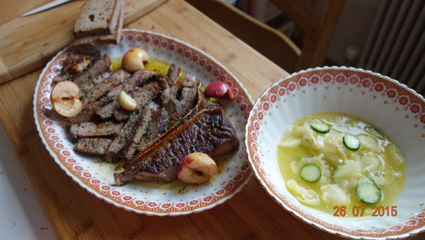 Kalbin T-Bone Steak mit Filet - Rezept - Bild Nr. 504