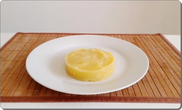 Gebratene Rinderleber auf   Kartoffel-Türmchen - Rezept - Bild Nr. 1692