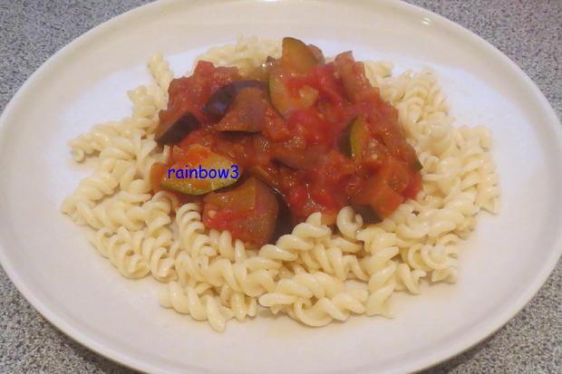 Kochen: Orientalische Gemüsesauce zu Nudeln - Rezept - Bild Nr. 551