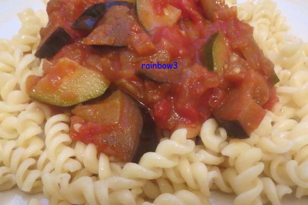Kochen: Orientalische Gemüsesauce zu Nudeln - Rezept - Bild Nr. 553