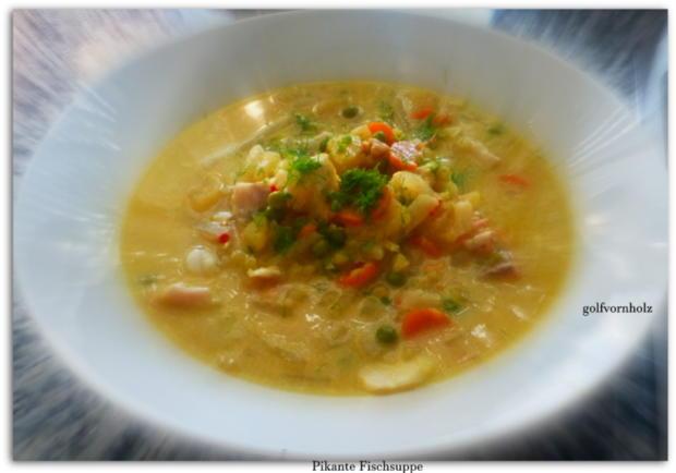 Pikante Fischsuppe - Rezept - Bild Nr. 554