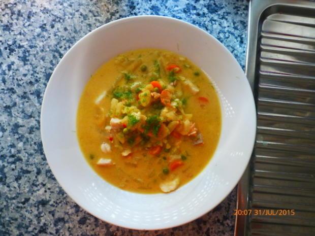 Pikante Fischsuppe - Rezept - Bild Nr. 558