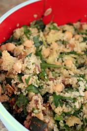Couscous-Gemüse-Aprikosen-Salat, fruchtig-orientalisch - Rezept - Bild Nr. 554