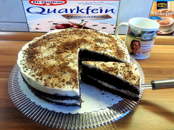 Mazu12-Schoko-Kuchen mit Quarkfein Stracciatella - Rezept - Bild Nr. 554