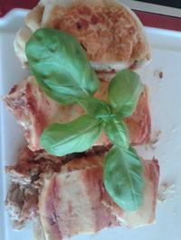 gefüllte Pizzabrötchen (Schnecken) schnell und lecker ;-) - Rezept - Bild Nr. 566