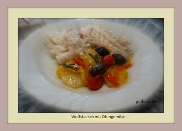 Wolfsbarsch aus dem Ofen - Rezept - Bild Nr. 567