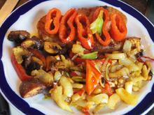Schnitzel mit Gemüsemix - Rezept - Bild Nr. 589