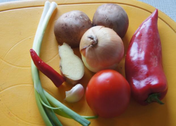 Omelett mit Gemüsemix - Rezept - Bild Nr. 590