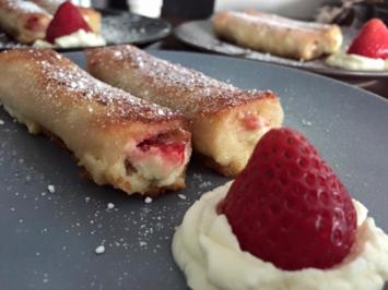 Rezept: French Toast Roll Ups