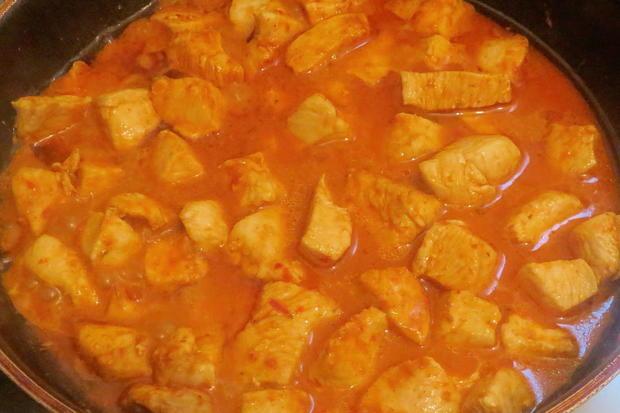 Kochen: Kokos-Hähnchen-Pfanne, fruchtig-scharf - Rezept - Bild Nr. 598