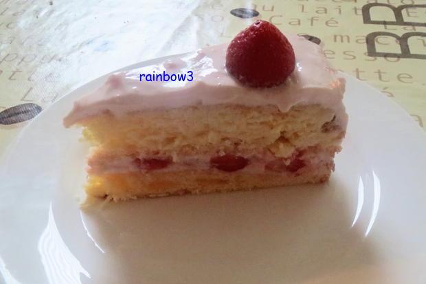 Backen: Erdbeer-Mascarpone-Torte - Rezept - Bild Nr. 603
