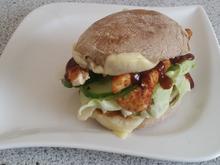 kalorienarmer Barbecue Chickenburger - Rezept - Bild Nr. 1429