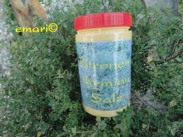 Kräutersalz vom Zitronenthymian - Rezept - Bild Nr. 706
