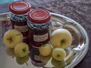 Rezept: Marmelade: Apfel-Heidelbeer-Marmelade