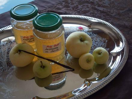 Marmelade: Apfelgelee mit Bourbon-Vanille - Rezept - Bild Nr. 736