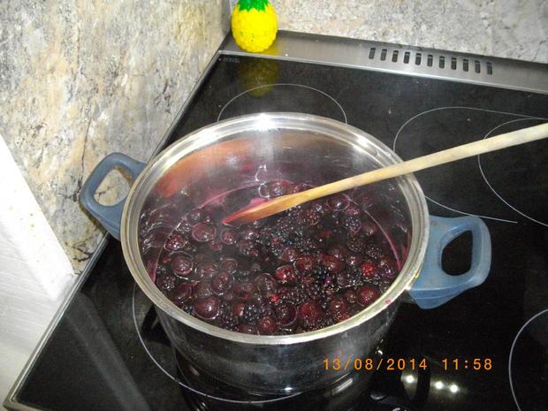 Brombeer-Kirsch Marmelade - Rezept - Bild Nr. 754