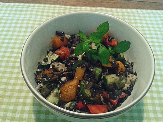 Belugalinsen-Salat - Rezept - Bild Nr. 793