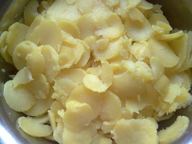 Salat - Kartoffelsalat mal anderst zubereitet, angerichtet - Rezept - Bild Nr. 841