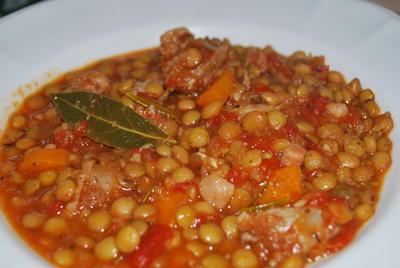 Italienischer Linseneintopf - Rezept - Bild Nr. 841