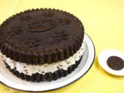 Oreo-Kuchen 'Giant Oreo Cake' - Rezept - Bild Nr. 866