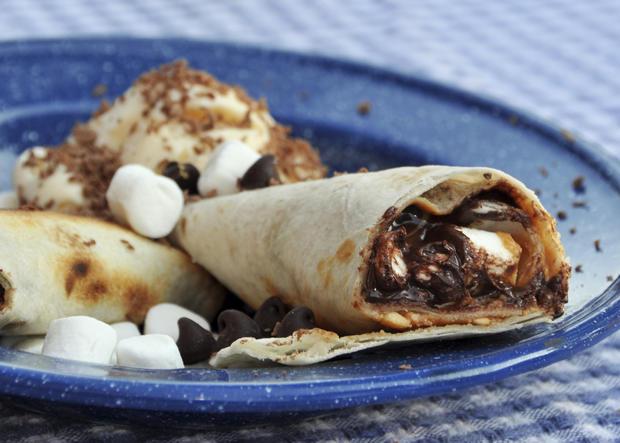 Nutella-Marshmallow-Quesadilla - Rezept - Bild Nr. 882