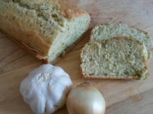 Grundrezept Milch Brot ( hier mit Kräutern ) ohne Hefe ! - Rezept - Bild Nr. 889