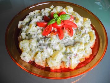 Salat: fixer Kartoffelsalat  - Rezept - Bild Nr. 889