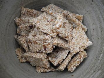 Dattel - Sesam - Quadrate - Rezept - Bild Nr. 913