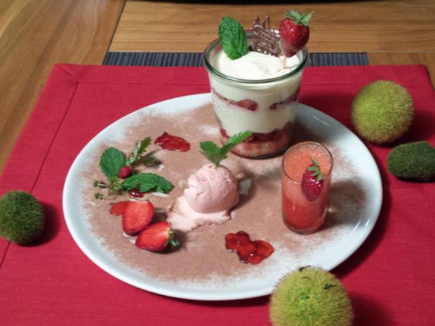 erdbeerdaiquiri erdbeerjoghurt eis quark tiramisu mit kandierten erdbeeren rezept. Black Bedroom Furniture Sets. Home Design Ideas