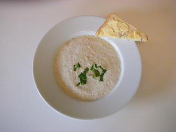 Rezept: Kohlrabi Schaumsuppe