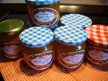 Rezept: Konfitüre & Co: Möhren-Apfel-Brotaufstrich mit Ingwer