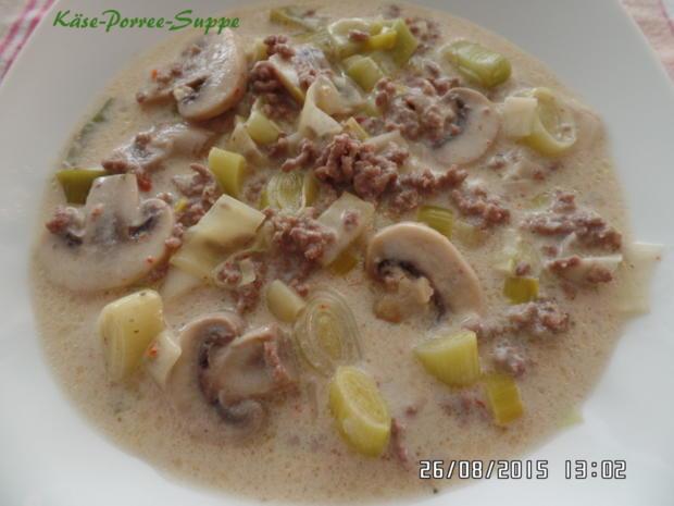 Käse-Porree -Suppe - Rezept mit Bild - kochbar.de