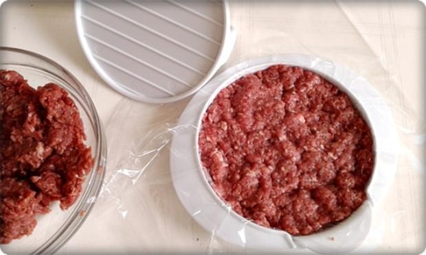 XXL Burger  mit Lollo Rosso Salat und....nach Art des Hauses - Rezept - Bild Nr. 978