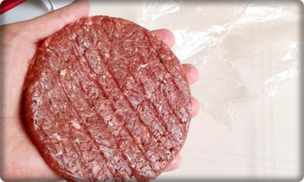 XXL Burger  mit Lollo Rosso Salat und....nach Art des Hauses - Rezept - Bild Nr. 981