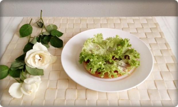 XXL Burger  mit Lollo Rosso Salat und....nach Art des Hauses - Rezept - Bild Nr. 988