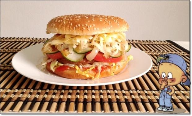 """Heißhunger auf """"Thüringer Burger"""" - Rezept - Bild Nr. 995"""