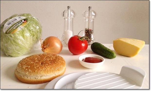 """Heißhunger auf """"Thüringer Burger"""" - Rezept - Bild Nr. 998"""