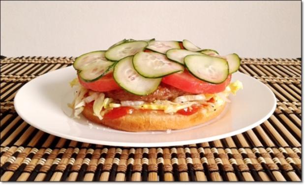 """Heißhunger auf """"Thüringer Burger"""" - Rezept - Bild Nr. 1015"""