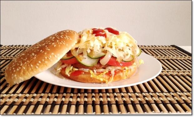 """Heißhunger auf """"Thüringer Burger"""" - Rezept - Bild Nr. 1019"""