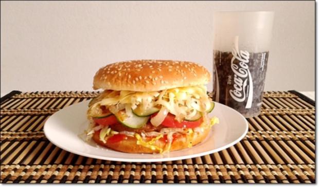 """Heißhunger auf """"Thüringer Burger"""" - Rezept - Bild Nr. 1021"""